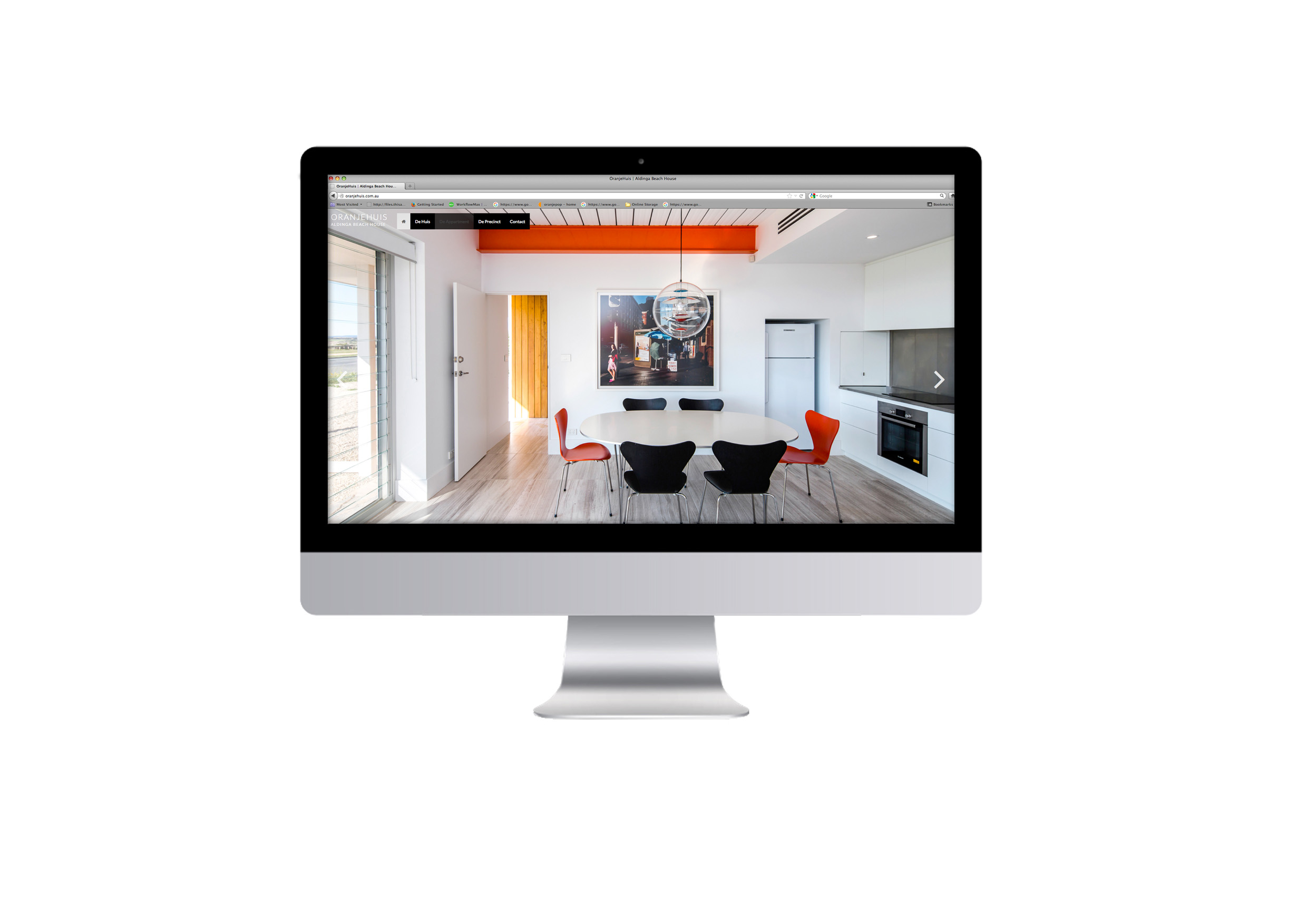 oranjehuis, website, web design, adelaide, oranje creative, Adelaide, East End