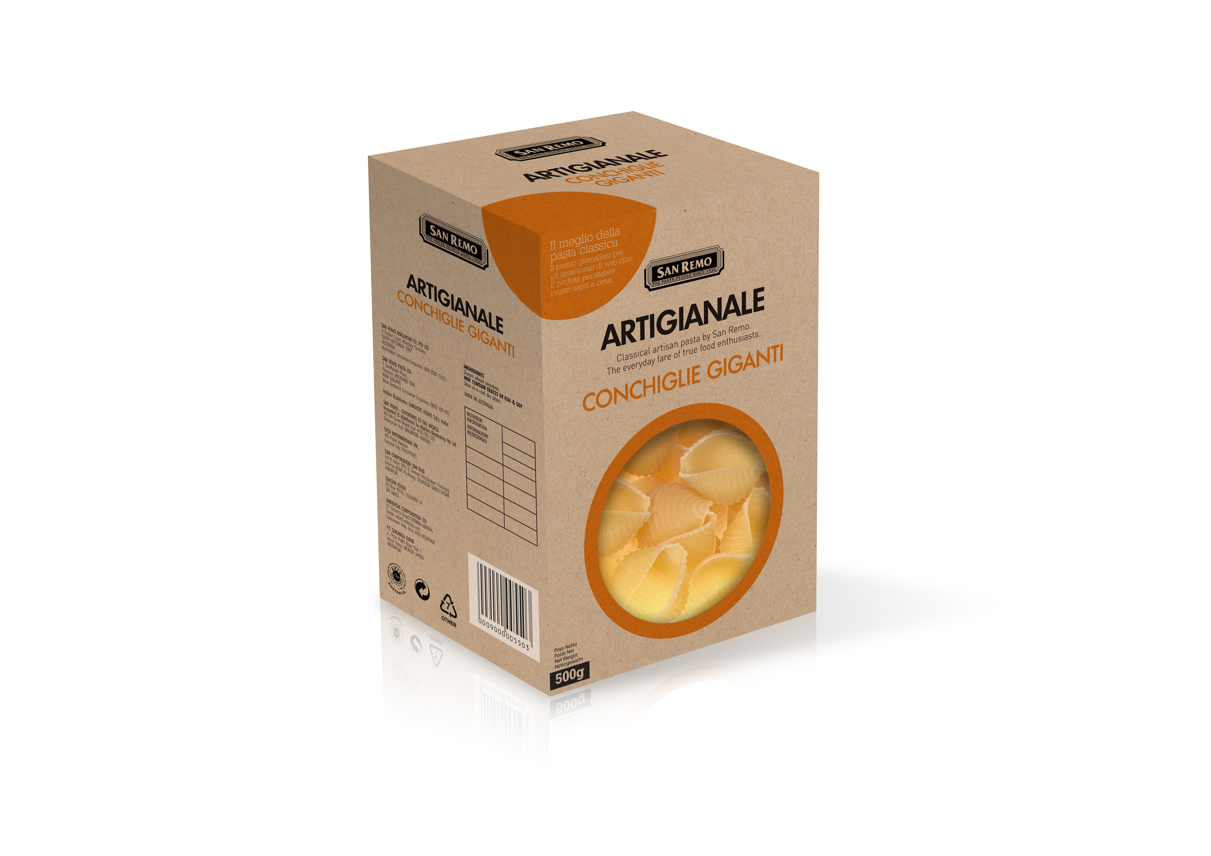 CONCHIGLIE RENDER