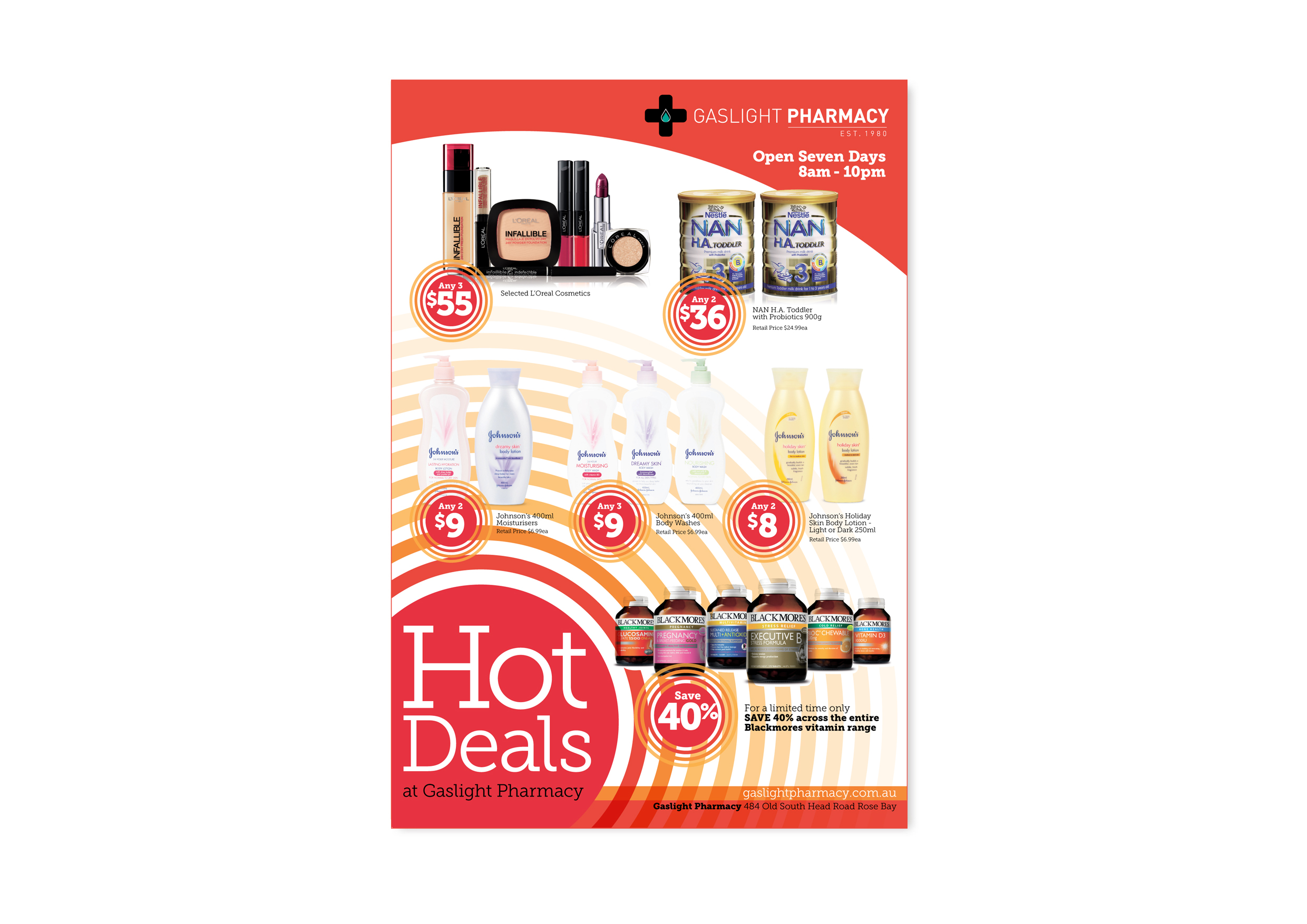 HOT DEALS FULL PAGE AD