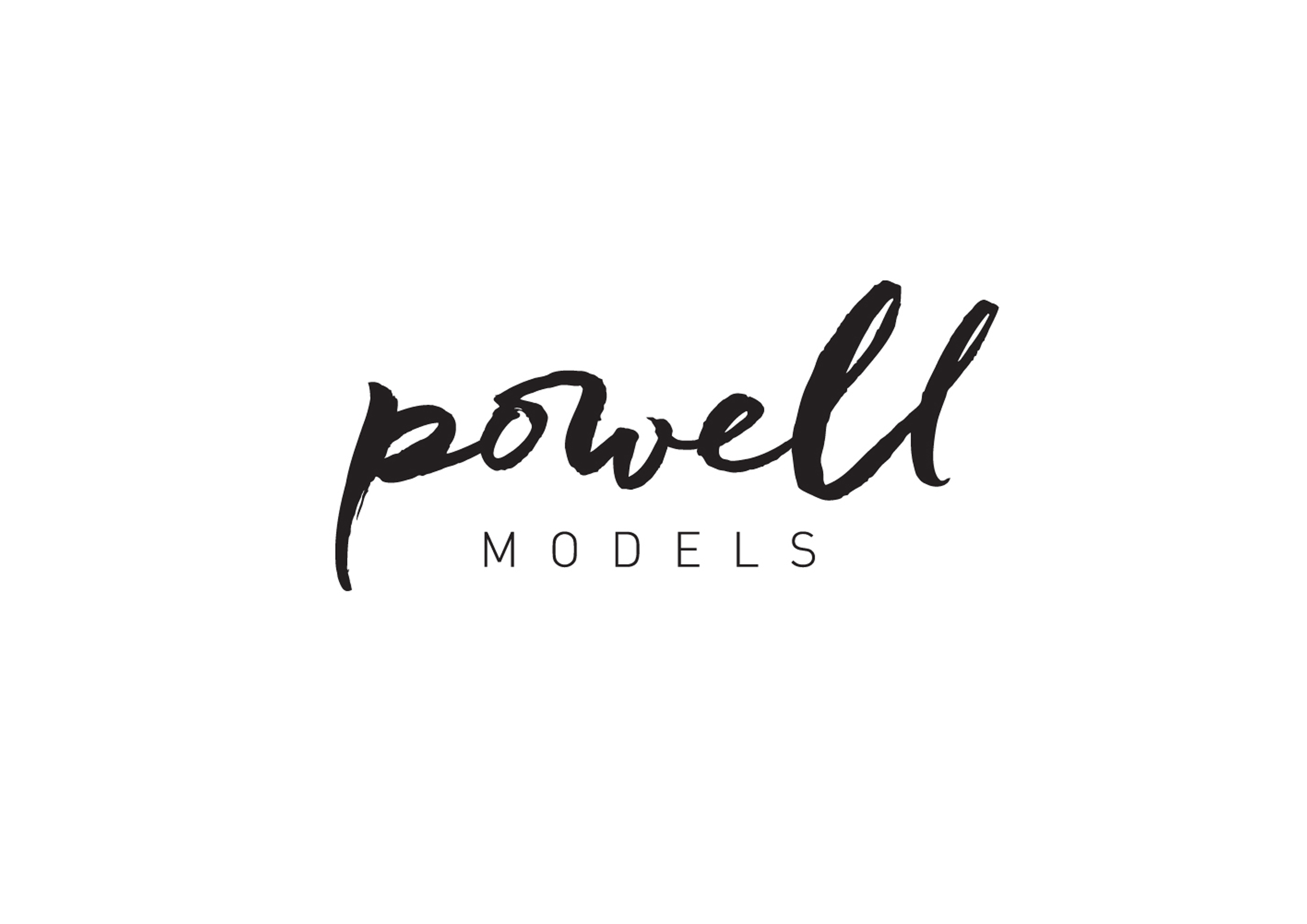 POWELL MODELS LOGO